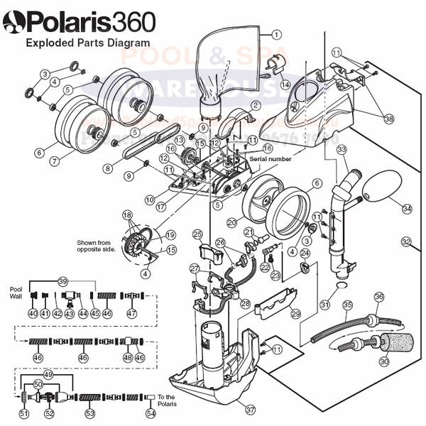 Polaris Pool Cleaner Spares