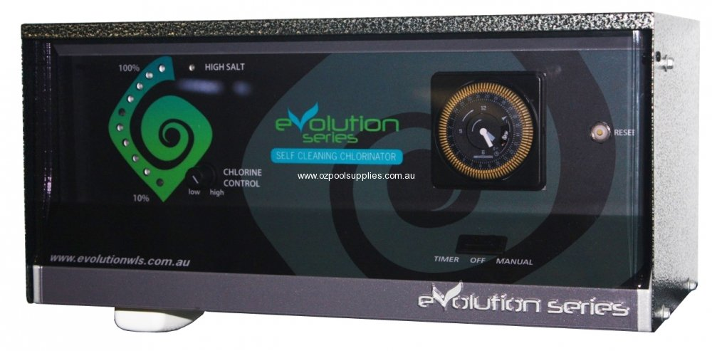 Evolution Series Chlorinator A35ts Reverse Polarity With Timer